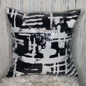 Kate Spade Painterly Plaid Pillow Cover